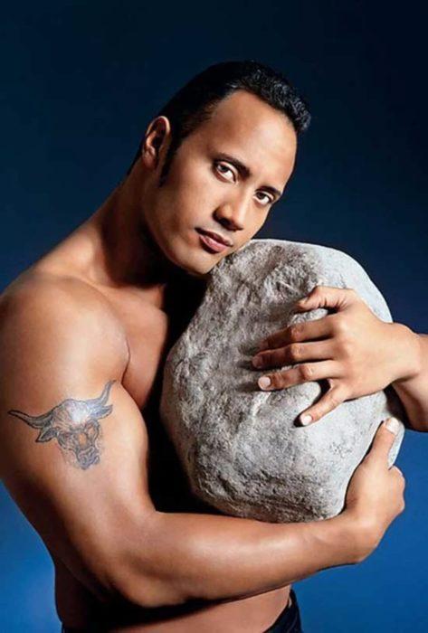 Foto de la roca original