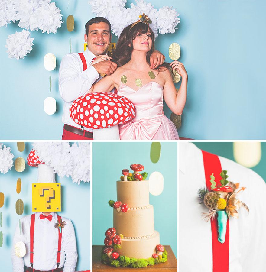 boda de Mario Bross