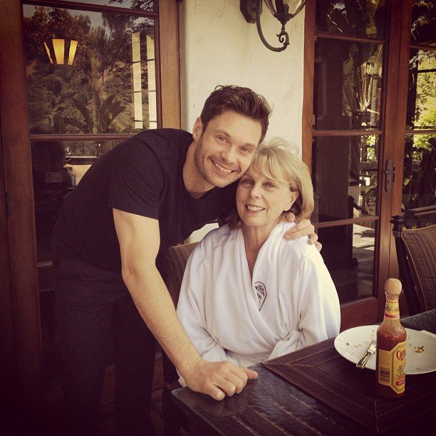 Tom Cruise y su madre, Mary Lee