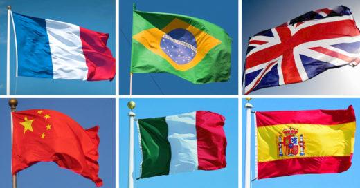 Test: ¿sabes de que países son estas banderas?