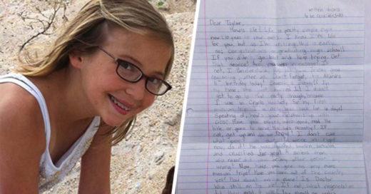 Niña deja una carta de despedida a sus padres despues de muerta