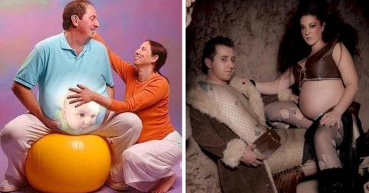 Las peores fotos de parejas embarazadas