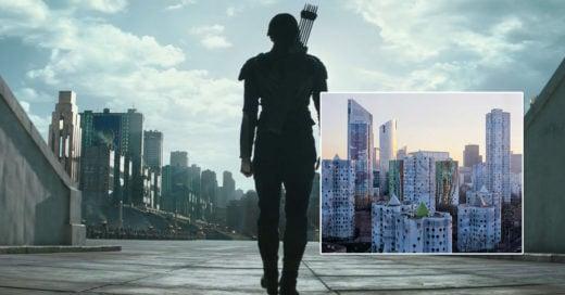 Ciudad idéntica a la de la película los juegos del hambre