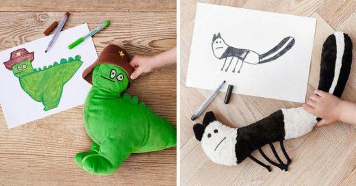 Ikea convirtió los dibujos de los niños en divertidos peluches
