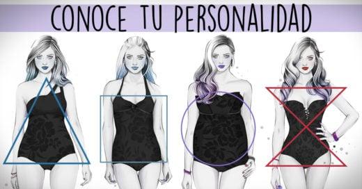 Lo que dice tu forma de cuerpo y de la cara de tu personalidad
