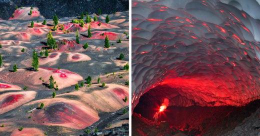 Lugares de la tierra que parecen como de otro planeta