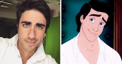 cosplayer de Disney es idéntico al Príncipe Eric de La Sirenita