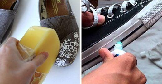 Consejos para que tus zapatos luscan como nuevos