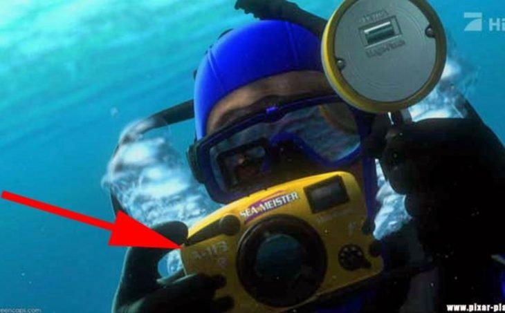 Disney, en Buscando a Nemo aparece el código A113 en una cámara fotográfica
