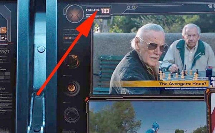En la película de Los Vengadores aparece el código A113 como un número de archivo