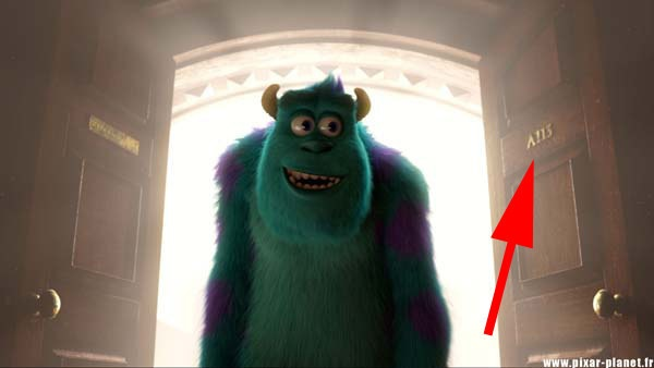 Disney, en Monster's University aparece el código A113