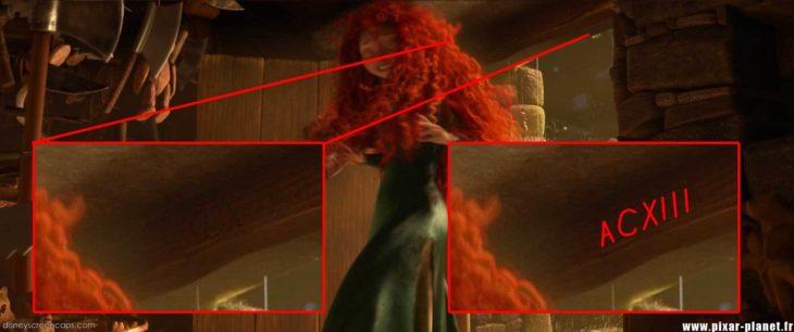 Disney, en la película de Valiente aparece el código A113 en números romanos ACXIII