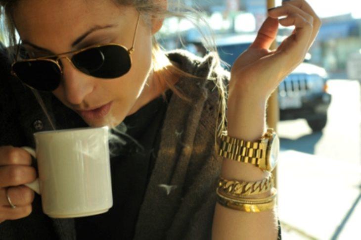 Tomar café es lo mejor que puedes hacer en la vida