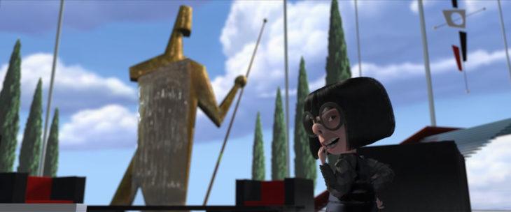 Edna moda en la película los increíbles