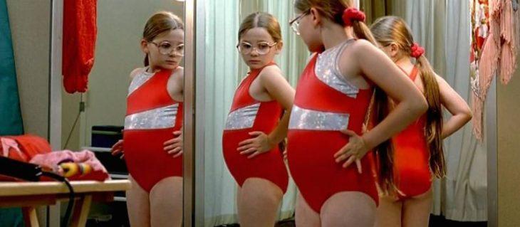 niña protagonista de la película Pequeña Miss Sunshine
