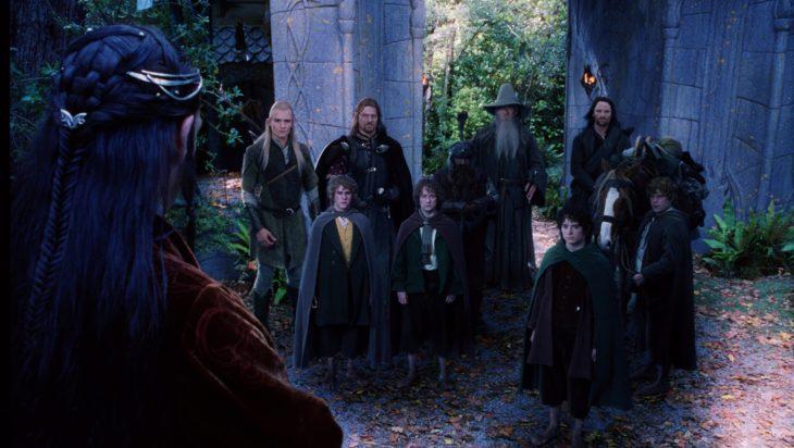 personajes de la película el señor de los anillos
