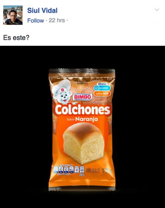 RETRATO DE LOS COLCHONES BIMBO
