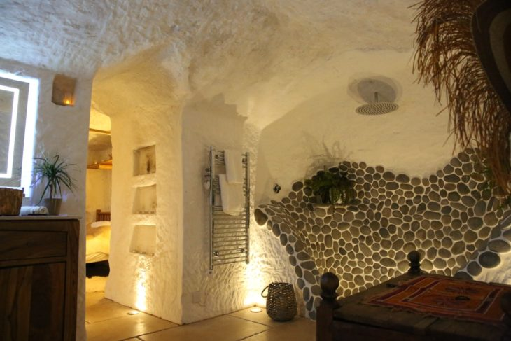 decoración del interior de la RockHouse
