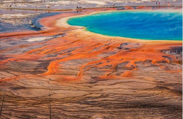 Parque Nacional Yellowstone en Estados Unidos