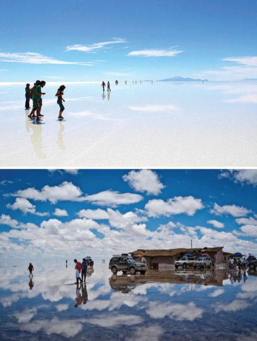 Salar Uyuni en Bolivia