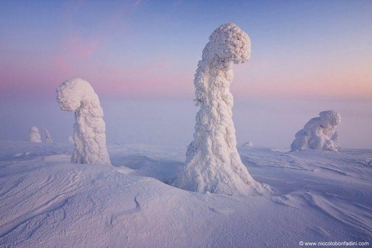 Centinelas del Ártico en Finlandia