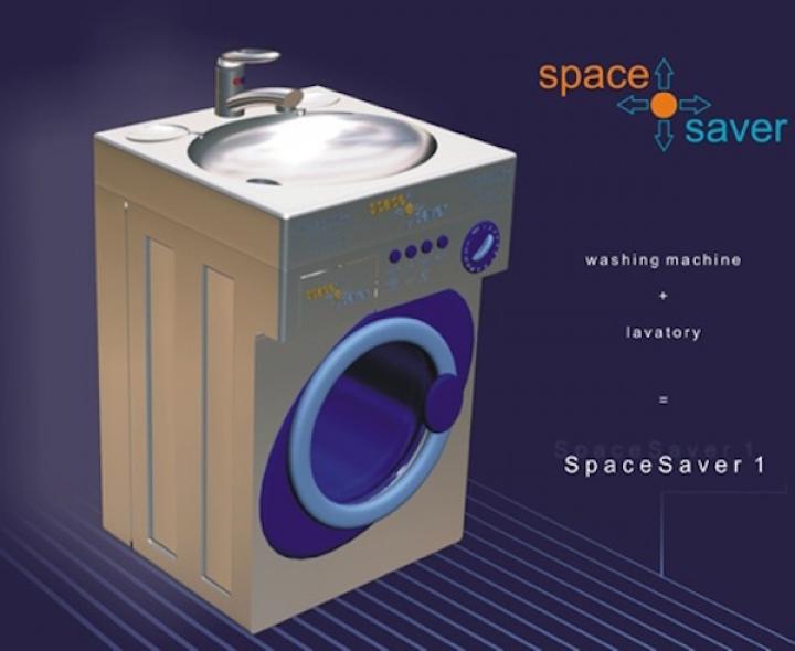 lavabo que te permite tomar agua y lavar la ropa al mismo tiempo