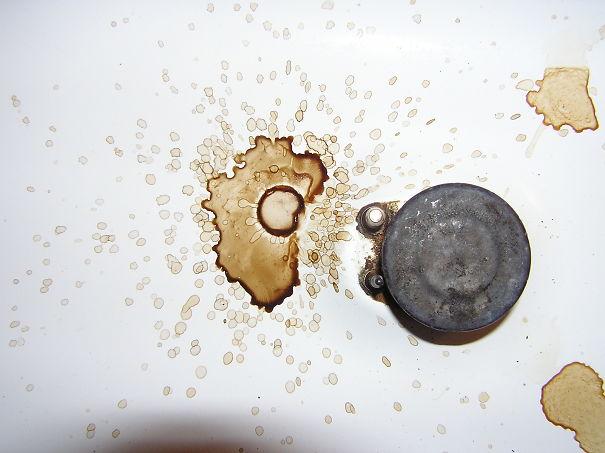 mancha de café