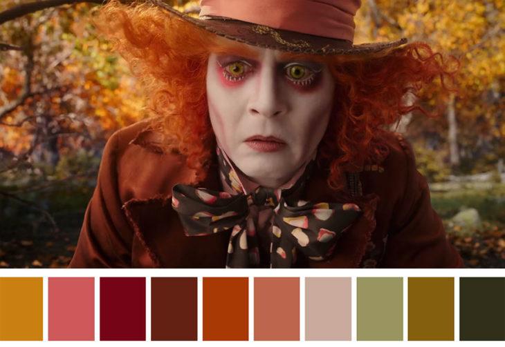 Tuitero saca la paleta de colores de tus escenas favoritas