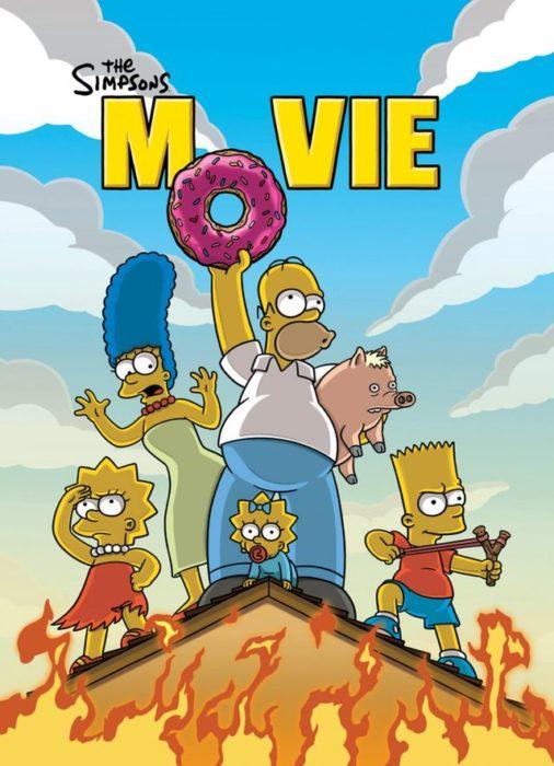 poster de la película de Los Simpson