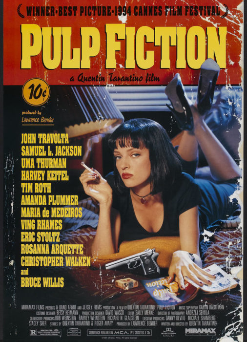 pelicula de pulp fiction