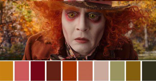 Paleta de colores para peliculas