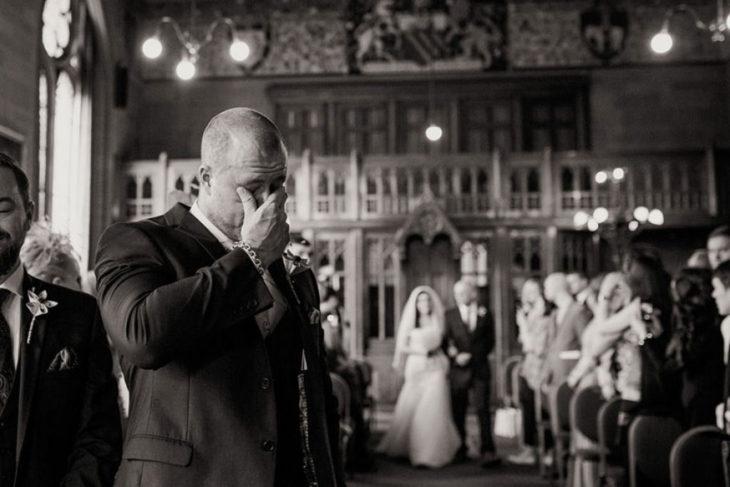 invitados en la boda al estilo harry potter