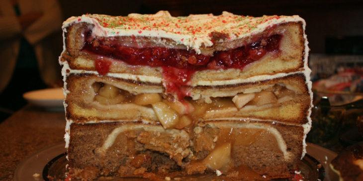 PieCaken la tarta rellena de pastel
