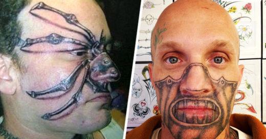 Tatuajes que te harán perder la fe en la humanidad