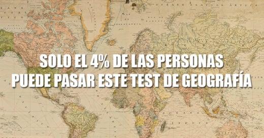 Test de geografía