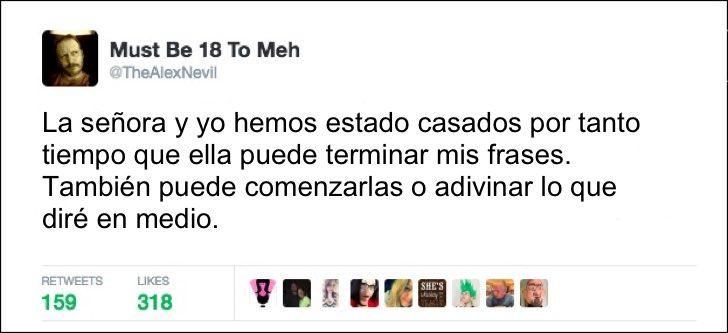 CASADOS PORDEMASIADO TIEMPO