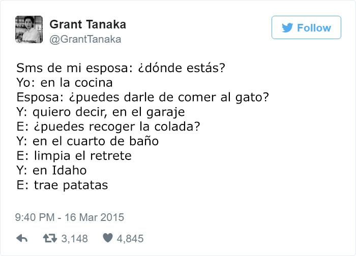 SIEMPRE TENGO QUE HACER CUANDO HABLO CON MI ESPOSA