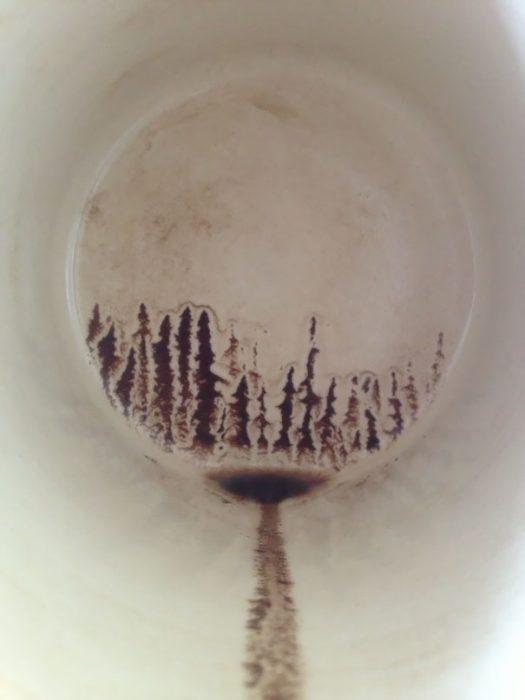 fondo de taza de cafe