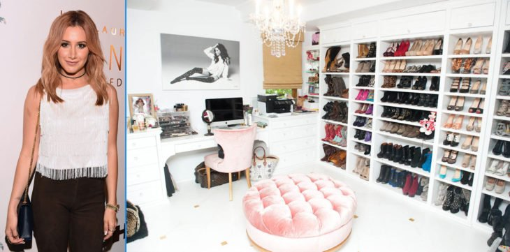 Closet de la actriz de High School Musical, Ashley Tisdale