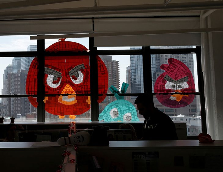 post it angry birds