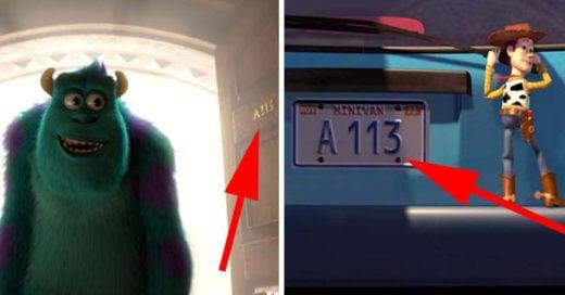 por que en las películas de pixar aparece el numero A113