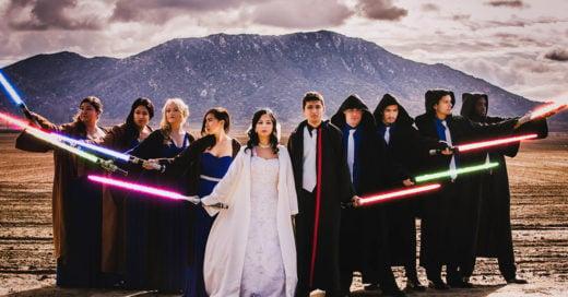 boda Geek que todo amante de Star Wars quisiera tener
