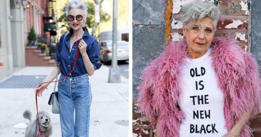 viejos con estilo y personalidad
