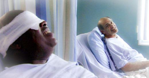Historia conmovedora de dos pacientes en un hospital