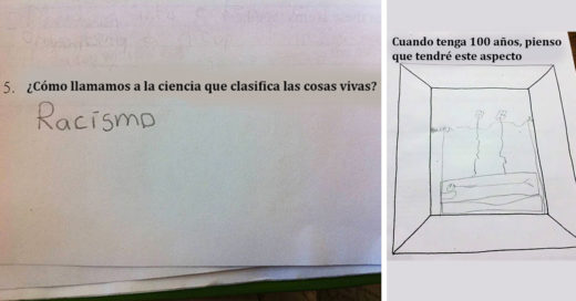 examenes con las respuestas de los niños más ocurrentes