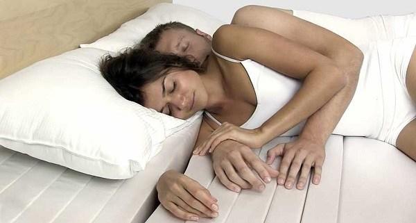 cama con separaciones