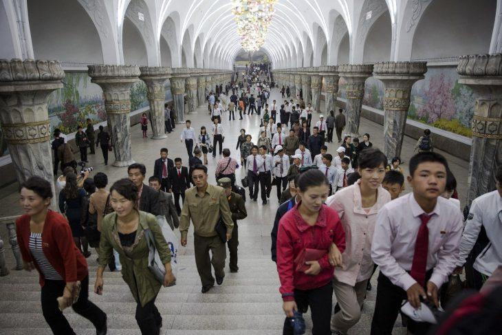 Metro de Corea del Norte