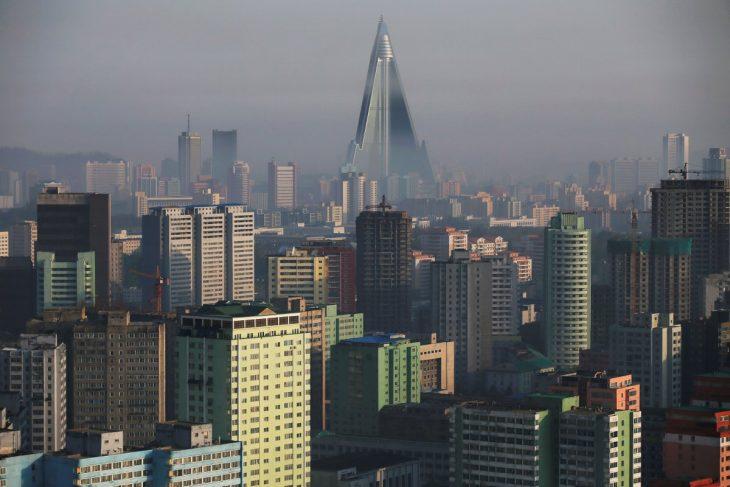 Panorámica de Corea del norte