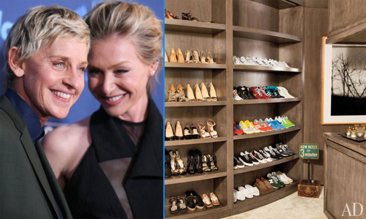 Zapatos de Ellen De Generes y Portia De Rossi