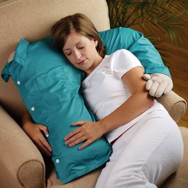 almohada con brazo